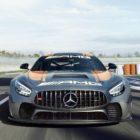 2020 Mercedes-AMG GT4 Wallpaper iphone 1080×1920
