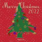 Merry Christmas Card - Printable, Free - Christmas Tree
