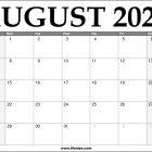 2022 August Calendar Printable – Download Free