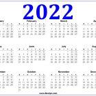 Australia 2022 Calendar Printable Free