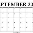 2022 September Calendar Printable – Download Free